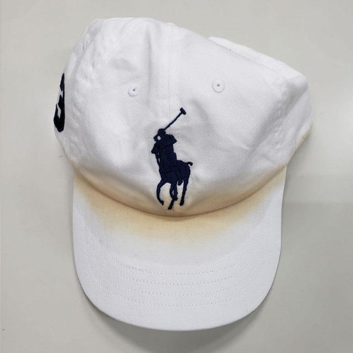 帽子のクリーニング クリーニング前